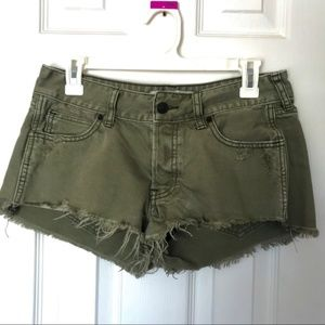 Abercrombie Low Rise Jean Shorts